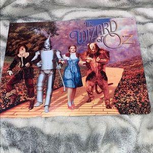 Wizard of Oz Wall Tin